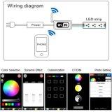 Luz de tira de WiFi RGB+White CCT Ajustable LED IP67 al aire libre