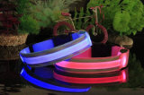 Regalo promocional Collar de Pet de Nylon luminoso LED