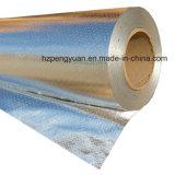 Дышащий материал и водонепроницаемая ткань соткана из алюминиевой фольги
