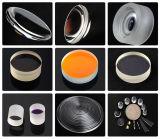 Lente esférica óptica sin recubrimiento ULTRAVIOLETA de la silicona fundida de Dia76.2mm