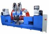 35kg Machine van het Lassen van de Naad van de Boog van de Gasfles van LPG de Automatische Dubbele Hoofd