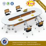 Mobilier de bureau de la Conférence de cuir métal Président de la réunion de la jambe (HX-NCD402)