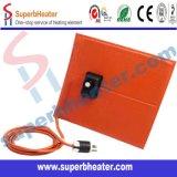 Calefator flexível da borracha de silicone com termostato