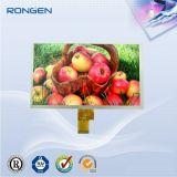 Visualización de alta resolución de la pantalla 9inch 300CD/M2 TFT LCD de 1024X600 LCD