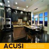 Amerikanische Insel-Art-festes Holz-Küche-Großhandelsschränke (ACS2-W36)