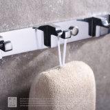 Современная ванная комната фитинги стены халат крюк настенный подвесной кронштейн для установки в стойку