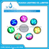 luz subacuática llenada resina de la piscina de la lámpara de 42W LED