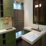 台所家具の卸売の現代ラッカー食器棚