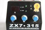 O inversor DC IGBT MMA soldador para fase 3 fase mono 380V 220V ZX7-315GS