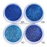 I Sequins blu della polvere di scintillio del chiodo di colore che Shinning il chiodo variopinto si sfalda polvere di fascino di 3D DIY per le decorazioni di arte del chiodo (NR-51)