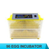 Incubatrice automatica dell'uovo di alta qualità con 96 uova