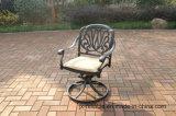 標準的な庭の旋回装置のグライダーの椅子の家具
