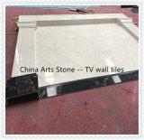 Il marmo cinese della natura copre di tegoli la parete per la stanza di ospite della parete della TV/stanza del pranzo