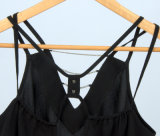 Soem-Großhandelsfrauen-Trägershirt-kundenspezifisches unbelegtes Trägershirt