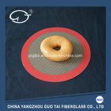 '' циновка выпечки силикона дюйма 6 красная круглая Non-Stick