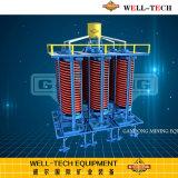 タンタルの採鉱プラントタンタルの回復のためのネジ・シュート