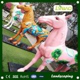 Comercio al por mayor de 40 mm de paisaje decorativos con el precio de fábrica de césped artificial