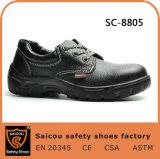 Pattini 2017 di sicurezza di cuoio standard del Ce S1p di qualità per calzature di funzionamento Sc-8805