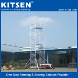 국제 기준 공장 가격 알루미늄 이동할 수 있는 탑 비계
