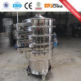 Écran de vibration rotatoire de produits chimiques crus normaux d'acier inoxydable