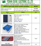 Солнечная панель для 260 Вт на сетке солнечной системы 10квт с по сетке инвертор /полный набор 10 квт реактивной тяги к поверхности солнечная энергия цена системы