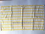 中国の工場農産物のカスタム赤い点検された綿のジャカードふきん