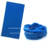 La Chine usine OEM de produire du tube de cou en polyester bleu Bandana