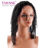 Peluca sin procesar vendedora caliente del frente del cordón del pelo humano de la densidad del 180%