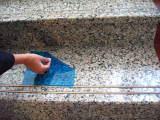 Película de protecção para a superfície de Mármore