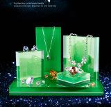 مبتكرة أكريليكيّ مجوهرات عرض حامل قفص لأنّ كاملة مجوهرات مجموعة