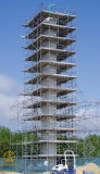 최신 복각 건축을%s 직류 전기를 통한 Kwikstage 비계