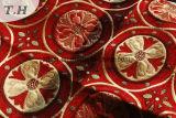 ソファーまたはカーテンのための花のシュニールのジャカードファブリック