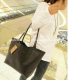 Grand blanc de mode de sac de rétro emballage en cuir en gros si les sacs à main de dames de Brown