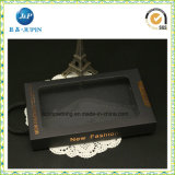 Gut billig schwarzer Papierkasten mit Zeichenkette (JP-box041)
