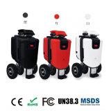 OEM de In het groot Vouwbare 3 Wielen die van de Fabrikant de Elektrische Autoped van de Mobiliteit voor Volwassene vouwen