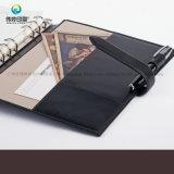 2017 Zapfen-Tagebuch PU-Leder-Deckel-Notizbuch des Form-kundenspezifisches Geschenk-A5
