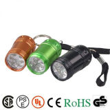 Venda quente Mini lanterna LED Multi Lanterna Chaveiro abridor de garrafas