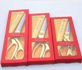 """10.5 """" tijeras de costura de la costura de la modistería del acero inoxidable del oro para la tela de la ropa"""