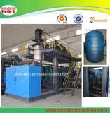 Tanque de Almacenamiento de agua PEHD de máquina de moldeo por soplado de plástico/barril que maquinaria