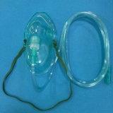 病院の管(緑)が付いている呼吸の心配の製品の医薬品の酸素マスク