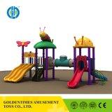 2017 - Продажа большой пластиковый открытый детская площадка слайд-оборудования