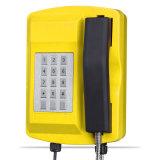 Citofono resistente all'intemperie del telefono della miniera di carbone di industria con il microtelefono