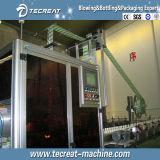 물 채우는 선을%s PVC 소매 긴축 레테르를 붙이는 기계