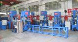 máquina de soldar automática da base inferior para a fabricação de cilindros de GPL