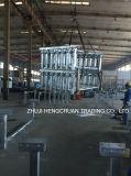 Stahlrollen-Rahmen für Td75 und Dtii Typen Förderanlagen-Leerlauf