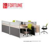 Cubicolo moderno della stazione di lavoro delle forniture di ufficio per 4 la persona (FOH-SS3060-2828)