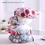 Colorida Imprimir Cuidados en el cuello en forma de U proveedor chino de almohada