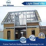2017 moda prefabricados de acero de alta calidad de la luz de la Casa Villa