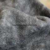 Panno morbido di effetto di stampa del catione micro, tessuto del rivestimento (il nero e gray)