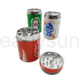 3 Layers Cola Drink Edges Zinc Alloy Grinder for Tobacco Smoker (ES-GD-030)